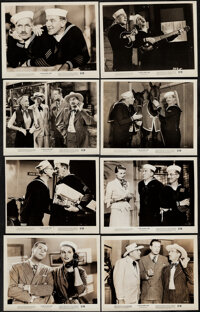 """A Girl in Every Port (RKO, 1952). Overall: Fine+. Photos (19) (8"""" X 10.25"""") & Trimmed Photos (4) (Approx..."""
