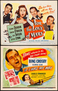 """Movie Posters:Musical, If I Had My Way & Other Lot (Universal, R-1946). Overall: Fine/Very Fine. Title Lobby Cards (2) (11"""" X 14""""). Musical.. ... (Total: 2 Items)"""