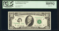Error Notes:Printed Tears, Printed Tear Error Fr. 2022-D $10 1974 Federal Reserve Note. PCGS Choice About New 58PPQ.. ...