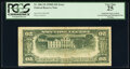 Inverted Back Error and Misaligned Face Printing Error Fr. 2061-B $20 1950B Federal Reserve Note. PCGS Very Fine 25.&...