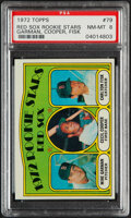 Baseball Cards:Singles (1970-Now), 1972 Topps Carlton Fisk - Red Sox Rookies #79 PSA NM-MT 8....