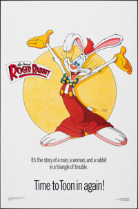 "Who Framed Roger Rabbit (Kilian, 1988). Rolled, Near Mint. One Sheet (27"" X 41"") SS, Style C, Dayna Stedny Des..."