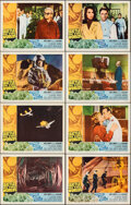 """Movie Posters:Science Fiction, Battle of the Worlds (Topaz, 1963). Very Fine+. Lobby Card Set of 8 (11"""" X 14""""). Science Fiction.. ... (Total: 8 Items)"""