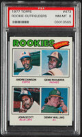 Baseball Cards:Singles (1970-Now), 1977 Topps Andre Dawson - Rookie Outfielders #473 PSA NM-MT 8....