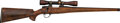 Long Guns:Bolt Action, Engraved, Gold Inlaid Ackley-O'Brien Mach IV Bolt Action Target Rifle with Telescopic Sight.. ...