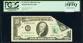 Error Notes:Foldovers, Printed Foldover Error Fr. 2027-D $10 1985 Federal Reserve Note. PCGS Very Fine 35PPQ.. ...