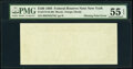 Missing Back Printing Error Fr. 2172-B $100 1988 Federal Reserve Note. PMG About Uncirculated 55 EPQ