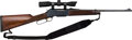Long Guns:Lever Action, Browning Model 81 BLR Lever Action Rifle with Telescopic Sight.. ...