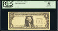 Error Notes:Missing Third Printing, Missing Third Printing Error Fr. 1912-A $1 1981A Federal Reserve Note. PCGS Apparent Choice About New 55.. ...
