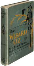 Books:Signed Editions, L. Frank Baum. The New Wizard of Oz. Indianapolis: Bobbs-Merrill Co., [1903]. Second edition, later printing. Sign...