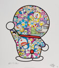 Prints & Multiples, Takashi Murakami X Fujiko F. Fujio. Doraemon in the Field of Flowers, 2018. Offset lithograph in colors on smooth wove p...