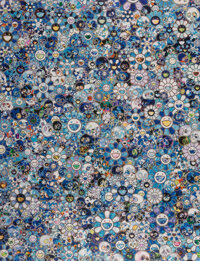 Takashi Murakami (b. 1962) Zero-One, 2016 Offset lithograph in colors on satin wove paper 27-1/4