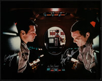 "2001: A Space Odyssey (2001). Very Fine+. Autographed Convention Photo (11"" X 14""). Science Fiction"