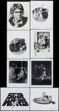 """Movie Posters:Science Fiction, Star Wars (20th Century Fox, 1977). Overall: Very Fine. Ad Art Photos (8) (8"""" X 10""""). Science Fiction.. ... (Total: 8 Items)"""