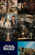 """Movie Posters:Science Fiction, Star Wars (20th Century Fox, 1977). Very Fine-. Deluxe Lobby Cards (8) (11"""" X 14""""). Science Fiction.. ... (Total: 8 Items)"""