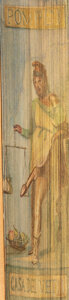 Books:Fore-edge Paintings, [Erotic]. Adam Lindsay Gordon. Poems. London: Robt. A. Thompson & Co., 1905. First edition. Vertical erotic fore-edg...