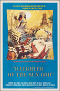 """Movie Posters:Adventure, Daughter of the Sun God (Herts-Lion International, 1963). Folded, Very Fine-. One Sheet (27"""" X 41""""). Adventure.. ..."""