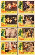 """Movie Posters:Science Fiction, The Day of the Triffids (Allied Artists, 1962). Overall: Fine+. Lobby Card Set of 8 (11"""" X 14"""") Joseph Smith Border Artwork.... (Total: 8 Items)"""