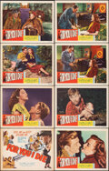 """Movie Posters:Drama, For You I Die (Film Classics, Inc., 1948). Very Fine-. Lobby Card Set of 8 (11"""" X 14""""). Drama.. ... (Total: 8 Items)"""