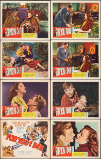 "For You I Die (Film Classics, Inc., 1948). Very Fine-. Lobby Card Set of 8 (11"" X 14""). Drama. ... (Total: 8 I..."