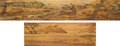 Books:Fore-edge Paintings, [Unknown]. Walter Scott. Two copies of The L...