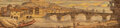 """Books:Fore-edge Paintings, [""""Double-Line Painter,"""" presumed]. [Horace]. Quinti Horatii Flacci Carmina. Editio Stereotypa Herhan. Parisiis [..."""