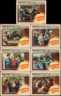 """Movie Posters:Drama, Flowing Gold (Warner Bros., 1940). Fine/Very Fine. Lobby Cards (7) (11"""" X 14""""). Drama.. ... (Total: 7 Items)"""