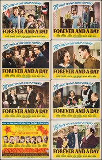 "Forever and a Day (RKO, 1943). Very Fine-. Lobby Card Set of 8 (11"" X 14""). Drama. ... (Total: 8 Items)"