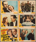 """Movie Posters:Comedy, I Love You Again (MGM, 1940). Fine. Lobby Card Set of 8 & Lobby Card (11"""" X 14""""). Comedy.. ... (Total: 9 Items)"""