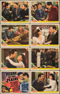 """Movie Posters:Drama, Pierre of the Plains (MGM, 1942). Overall: Very Fine-. Lobby Card Set of 8 (11"""" X 14""""). Drama.. ... (Total: 8 Items)"""