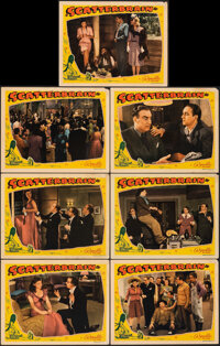 """Scatterbrain (Republic, 1940). Fine+. Lobby Cards (7) (11"""" X 14""""). Comedy. ... (Total: 7 Items)"""