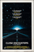 """Movie Posters:Science Fiction, Close Encounters of the Third Kind (Columbia, 1977). Folded, Fine+. One Sheet (27"""" X 41""""). Science Fiction.. ..."""