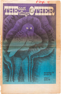 The East Village Other V4#48 (East Village Other, 1969) Condition: GD-