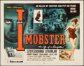 """Movie Posters:Crime, I, Mobster (20th Century Fox, 1958). Rolled, Fine/Very Fine. Half Sheet (22"""" X 28""""). Crime.. ..."""