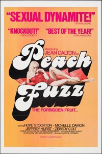 "Peach Fuzz & Other Lot (Command Cinema Corporation, 1976). Flat Folded, Very Fine+. One Sheets (2) (27"" X 41&qu..."