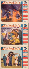 """Movie Posters:War, I Wanted Wings (Paramount, 1941). Very Fine-. Lobby Cards (3) (11"""" X 14""""). War.. ... (Total: 3 Items)"""