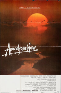 "Apocalypse Now (United Artists, 1979). Folded, Fine/Very Fine. One Sheet (27"" X 41"") Advance, Bob Peak Artwork..."