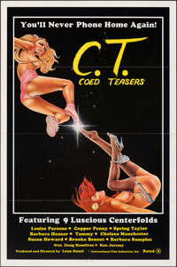 "Coed Teasers (International Film Industries, 1983). Flat Folded, Very Fine. One Sheet (27"" X 41""). Adult"