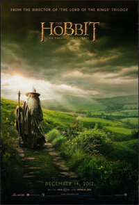 """The Hobbit: An Unexpected Journey (New Line, 2012). Rolled, Very Fine. One Sheet (27"""" X 40"""") DS Advance. Fanta..."""