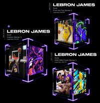 LeBron James NBA Top Shots Lot of (3) - All With Kobe Bryant Relevance - The House of Kibaa Collection