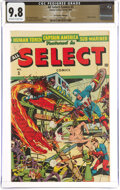 Golden Age (1938-1955):Superhero, All Select Comics #3 The Promise Collection Pedigree (Timely, 1944) CGC NM/MT 9.8 Off-white to white pages....