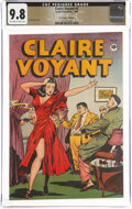 Golden Age (1938-1955):Crime, Claire Voyant #2 The Promise Collection Pedigree (Leader Enterprises, 1946) CGC NM/MT 9.8 Off-white to white pages....