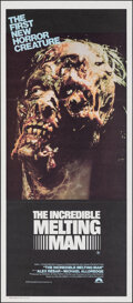 """Movie Posters:Science Fiction, The Incredible Melting Man (Columbia International, 1978). Folded, Very Fine+. Australian Daybill (13"""" X 29.75""""). Science Fi..."""