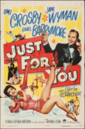 """Movie Posters:Musical, Just for You & Other Lot (Paramount, 1952). Folded, Overall: Fine/Very Fine. One Sheets (2) (27"""" X 41""""). Musical.. ... (Total: 2 Items)"""