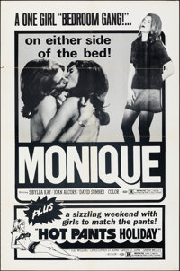 "Monique/Hot Pants Holiday Combo & Other Lot (Avco Embassy, 1970). Folded, Very Fine-. One Sheets (2) (27"" X 41&..."