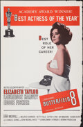"""Movie Posters:Drama, Butterfield 8 (MGM, 1960). Rolled, Fine/Very Fine. One Sheet (27"""" X 41"""") Academy Award Style. Drama.. ..."""