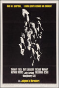 """Movie Posters:Drama, Judgment at Nuremberg (United Artists, 1961). Folded, Very Fine+. One Sheet (27"""" X 41""""). Drama.. ..."""
