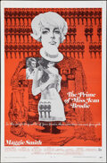 """Movie Posters:Drama, The Prime of Miss Jean Brodie (20th Century Fox, 1969). Folded, Very Fine. International One Sheet (27"""" X 41""""). Ted Coconis ..."""