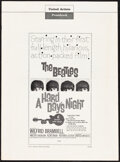 """Movie Posters:Rock and Roll, A Hard Day's Night (United Artists, 1964). Very Fine-. Uncut Pressbook (12 Pages, 13.25"""" X 18""""). Rock and Roll.. ..."""