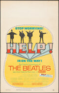 """Movie Posters:Rock and Roll, Help! (United Artists, 1965). Rolled, Very Fine-. Window Card (14"""" X 22""""). Rock and Roll.. ..."""
